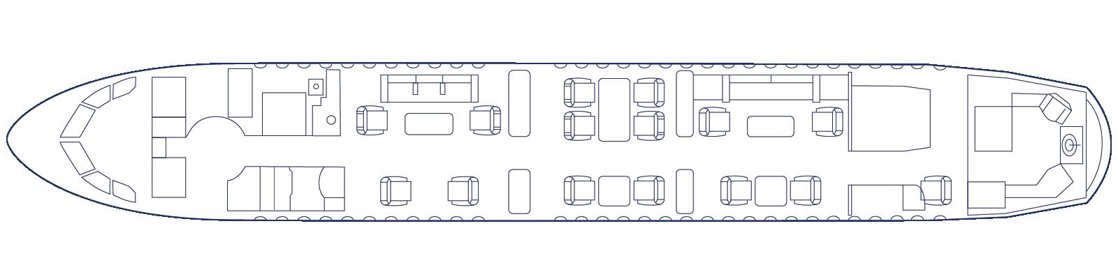 G-NOAH Cabin Day Configuration